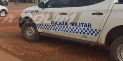 URGENTE - Mulher é baleada após tentativa de roubo de moto nesta manhã de domingo em Rolim de Moura