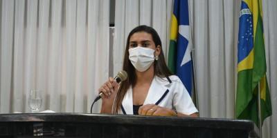 Vereadora Juliana Antunes em ação pelo povo de Rolim de Moura