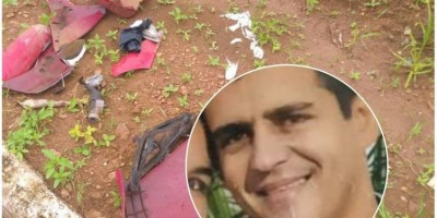 Funcionário do Atacadão bate moto em traseira de carreta estacionada e morre no Hospital Regional de Vilhena