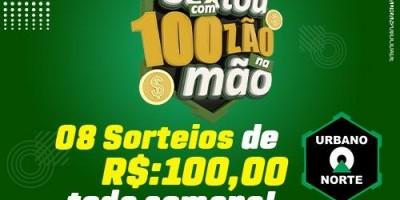 Promoção sextou com da URBANO NORTE  de Rolim de Moura, Concorra a R$100,00 todas as sextas-feiras - Veja o vídeo