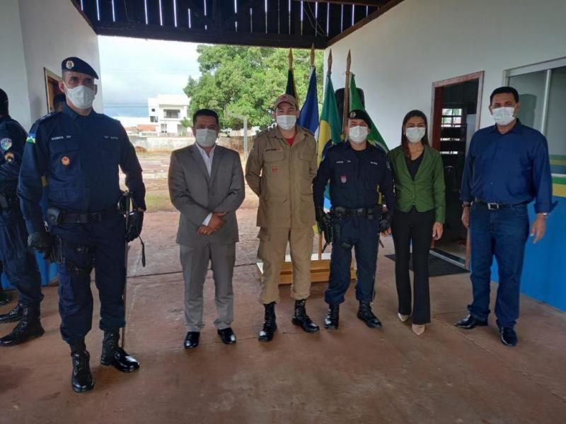 Companhias de Policiamento Ostensivo de Rolim de Moura e Alta Floresta D