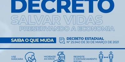 Governo de Rondônia lança novo decreto com medidas contra o avanço da Covid-19; veja o que pode funcionar