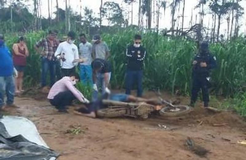 Homem é executado a tiros no Assentamento Enio Ribeiro em Seringueiras