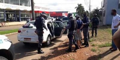Polícia Militar interrompe sequestro em andamento, em Ouro Preto do Oeste