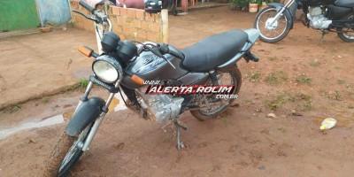 Poucas horas após furto de motocicleta, PM age rápido e recupera veículo