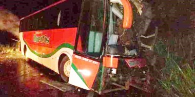 Um morto e três feridos em acidente na BR 364 próximo a balança de Ouro Preto do Oeste