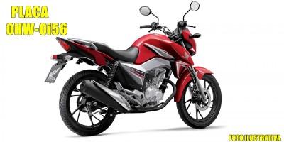 Homem é rendido por dupla armada e tem sua moto roubada durante a noite de terça-feira em Rolim de Moura