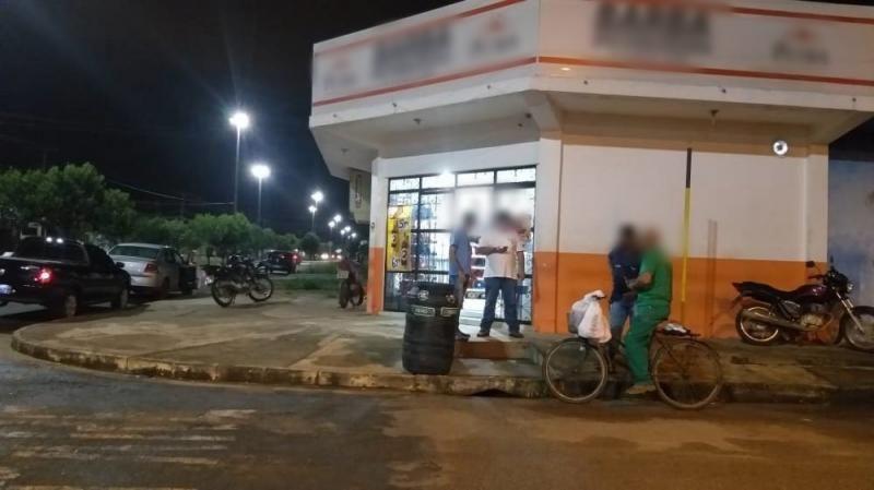 Após assaltar distribuidora de bebidas, bandido troca tiros com a PM e acaba morto