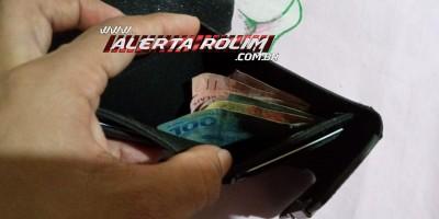 Carteira com dinheiro e documentos em nome de Luzia Kátia Santos foram encontrados
