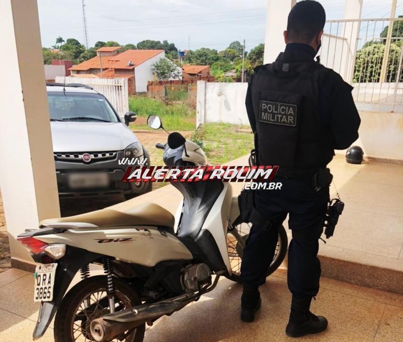 Duas motos roubadas são recuperadas pela Polícia Militar em Rolim de Moura