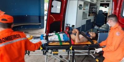 Foragido leva tiro no peito durante roubo  em Ji-Paraná