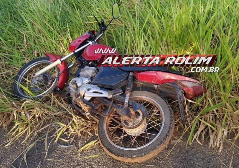Moto roubada e utilizada em roubo  em Distribuidora é recuperada pela Polícia Militar