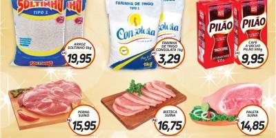 Ofertas da semana do supermercado central de Rolim de Moura; faça suas compras e concorra a 3 mil reais em dinheiro