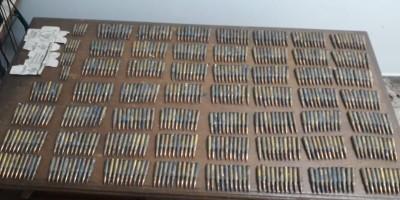 PATAMO apreende quase 600 munições de fuzil e droga no setor 04 em Jaru