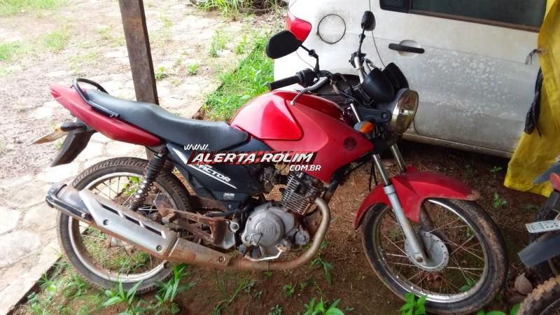 Polícia Militar do 10º Batalhão em Novo Horizonte recupera moto roubada em Rolim de Moura e prende dois suspeitos