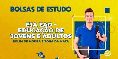 Qualifica Rondônia oferece bolsas de estudo para o curso de EJA – Educação de Jovens e Adultos em Rolim de Moura e Zona da Mata
