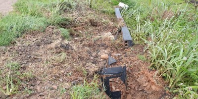 Radares de Velocidade são novamente derrubados na BR 364 em Jaru