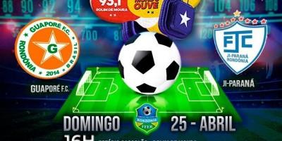 Rádio Rondônia FM transmitirá os jogos do Guaporé pelo Rondoniense 2021