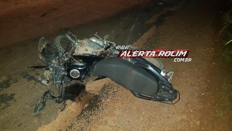 URGENTE - Motociclista perde a vida após colisão com caminhonete, na RO-010 entre Rolim de Moura e Novo Horizonte