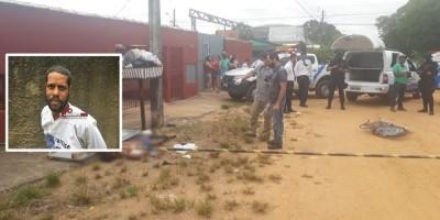 Foragido é executado a tiros enquanto caminhava pelas ruas de Jí-Paraná