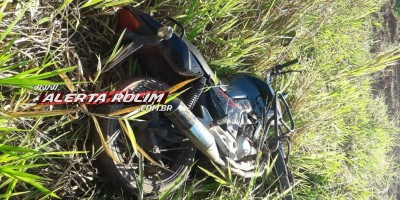 Através do sistema de rastreamento, PM localiza moto furtada em Rolim de Moura
