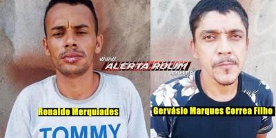 Acusados de roubos a pessoa em Rolim de Moura são presos pela Polícia Civil