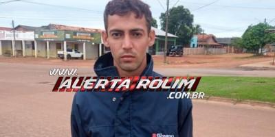 Acusado de tráfico de drogas é preso pela Polícia Militar em Rolim de Moura