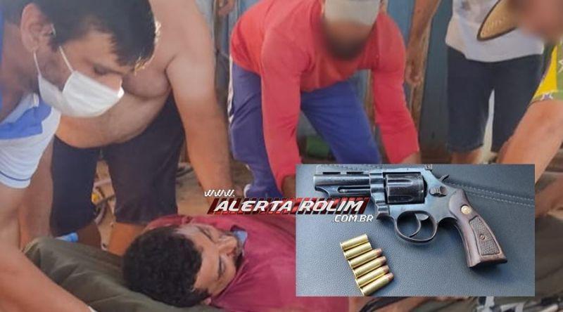 Borracheiro é atingido por dois tiros enquanto trabalhava em Novo Horizonte do Oeste