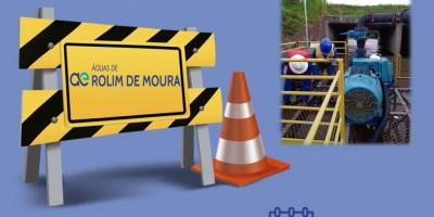 Devido à manutenção no sistema de captação de água em Rolim de Moura, o fornecimento poderá ficar prejudicado em algumas regiões da cidade nesta quinta-feira