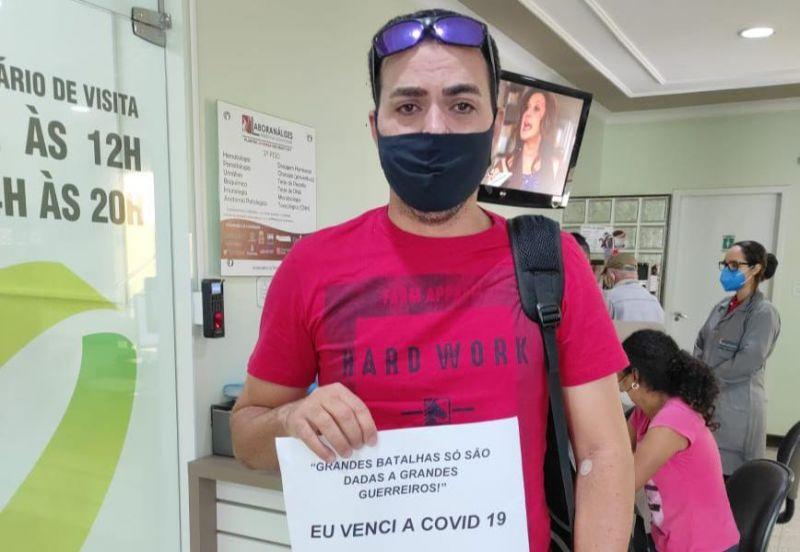 DJ Alessandro vence a COVID-19 depois de 20 dias internado em Cacoal