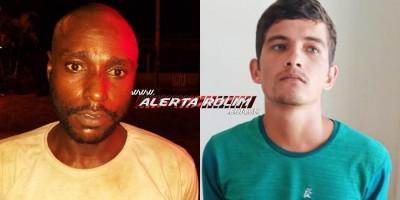 Dois acusados, um por crime de roubo e outro por tráfico foram presos pela Polícia Militar em Alto Alegre dos Parecis em cumprimento a Mandados de Prisão