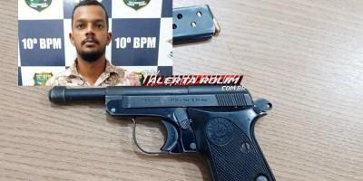 Mais dois suspeitos são presos com arma de fogo e munições pela equipe do PATAMO da PM em Rolim de Moura