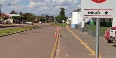 Multa de R$130,16 e 04 pontos na CNH poderão ser aplicados para motoristas que estacionarem em frente UPA de Rolim de Moura