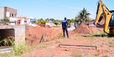 Prefeitura inicia construção de ponte de concreto armado no Igarapé da Encrenca, em Rolim de Moura