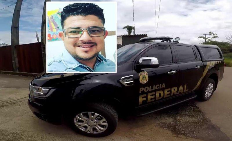 Rolimourense acusado de crime de tráfico internacional de drogas é preso pela PF com apoio da PM em cumprimento a Mandado de Prisão