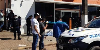 Sargento do Exército reage assalto e mata criminoso em frente de agência bancária em Porto Velho
