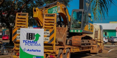 TCHAU POEIRA - Pimenta Bueno vai receber R$ 15 milhões em infraestrutura do Governo de Rondônia