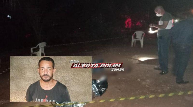 URGENTE – Homem é morto a tiros no Bairro Beira Rio em Rolim de Moura