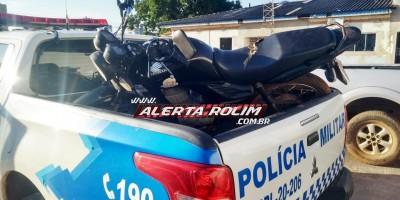 Veículo roubado é recuperado por Policial Militar em Rolim de Moura, enquanto estava a caminho para assumir o serviço