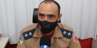 Vídeo - Comandante dos bombeiros e Secretário do Meio Ambiente falam sobre queimadas em Rolim de Moura