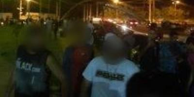Sem policiamento ostensivo, Cacoal vira palco de bagunça em vários cantos da cidade