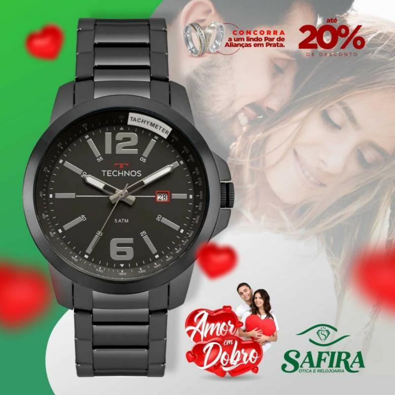Aproveite descontos de até 20% na Ótica e Relojoaria Safira e compre o presente perfeito para seu amor