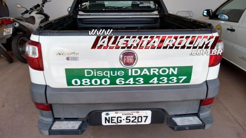Carro, motor de popa e outros objetos foram furtados da IDARON durante a madrugada em Rolim de Moura