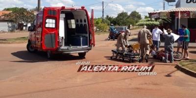 Em menos de uma semana, mais um condutor foge do local do acidente na Rua Jamari em Rolim de Moura