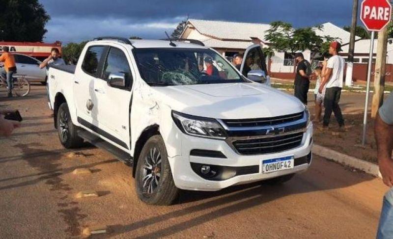Grave acidente de trânsito é registrado nesta manhã de sexta-feira em Nova Brasilândia do Oeste