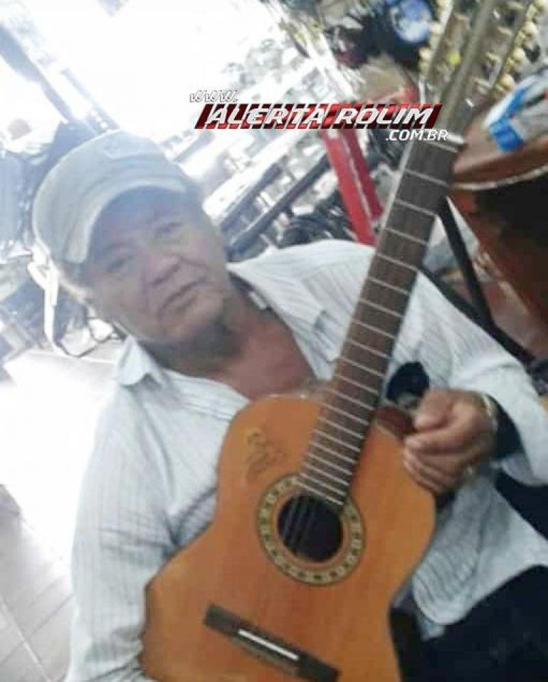 Nota de Pesar - José Araújo dos Santos (Zé da Viola), vítima das complicações da Covid-19