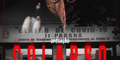 Polícia Civil deflagra operação Colapso para desarticular grupo criminoso que desvia recursos de combate a COVID-19 em RO