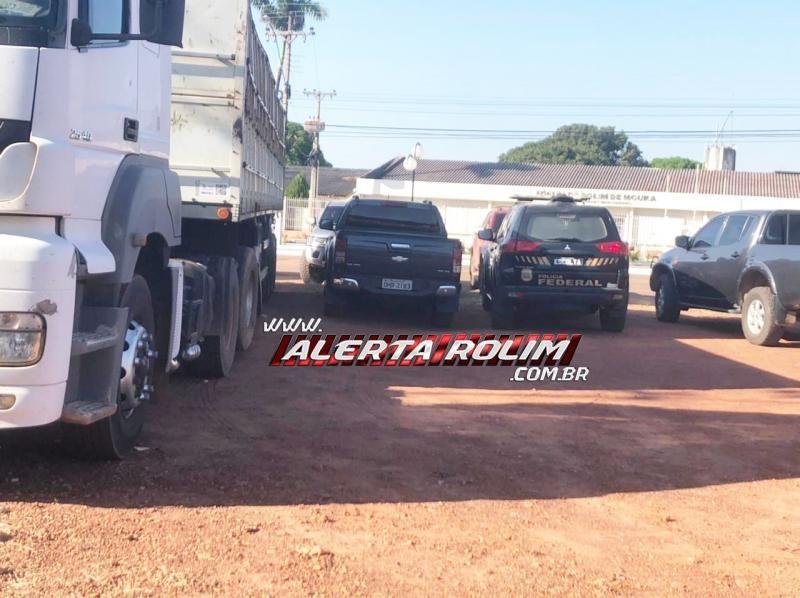 Polícia Federal deflagrou nesta manhã a OPERAÇÃO PARALELO visando desarticular esquema criminoso de envio de carregamento de drogas