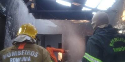 Tristeza - Criança de 03 anos morre carbonizada durante incêndio em residência, em Vilhena