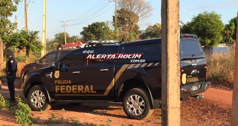 URGENTE – Operação da PF e PM cumprem 07 Mandados de Busca e Apreensão em Rolim de Moura para desarticular grupo criminoso envolvido em diversos crimes